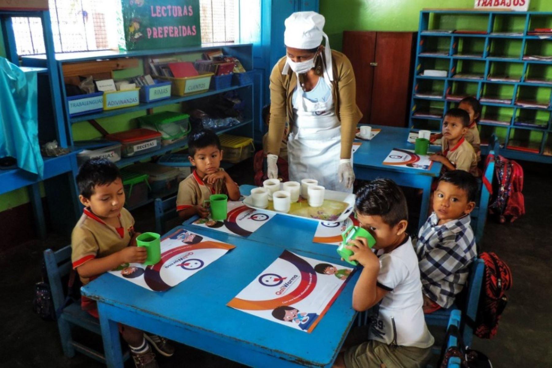 Qali Warma reanuda servicio alimentario en más de 63,000 escuelas en ...