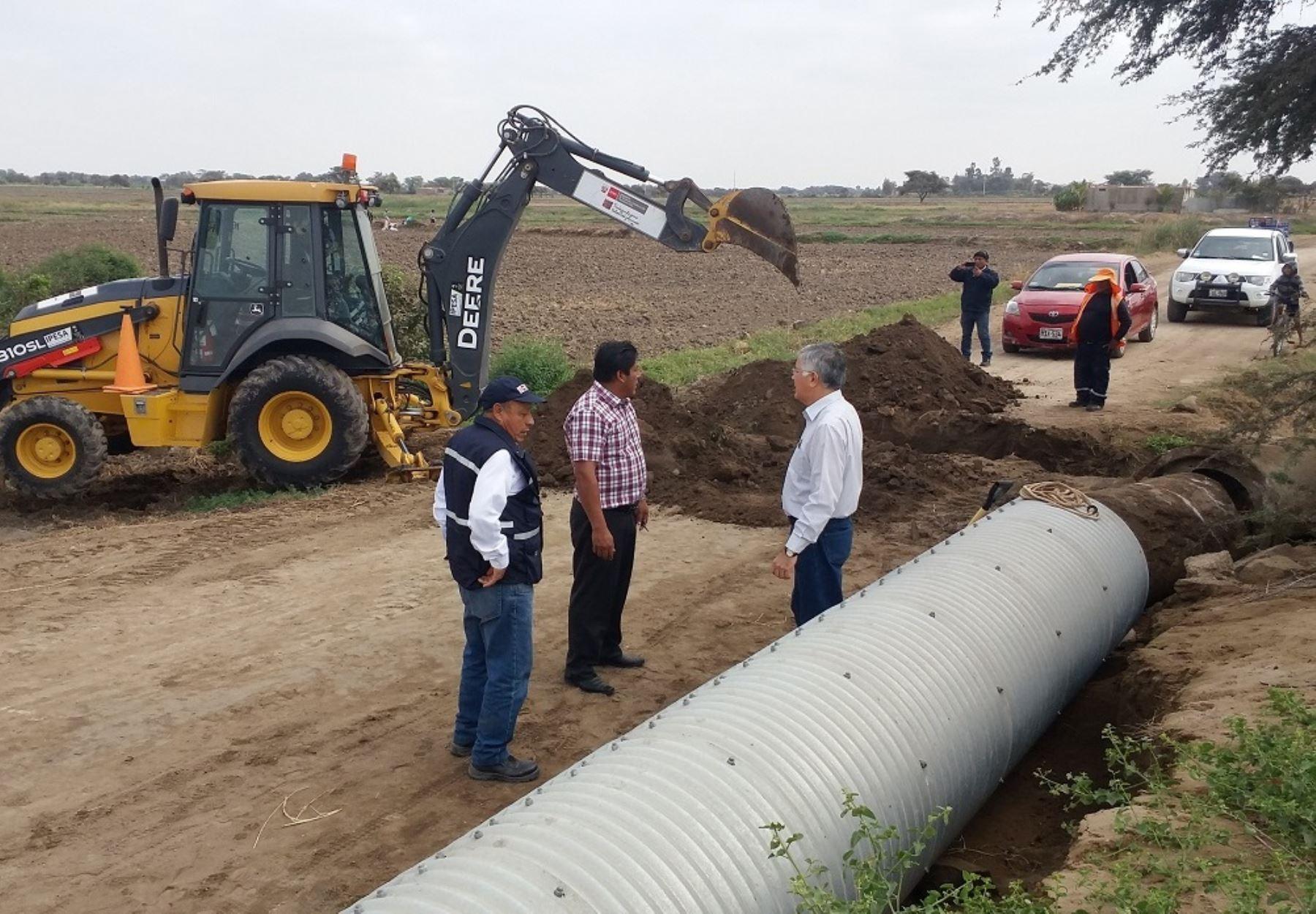 Destinarán más de 2,080 millones para la reconstrucción de infraestructura dañada por El Niño Costero en Lambayeque. ANDINA