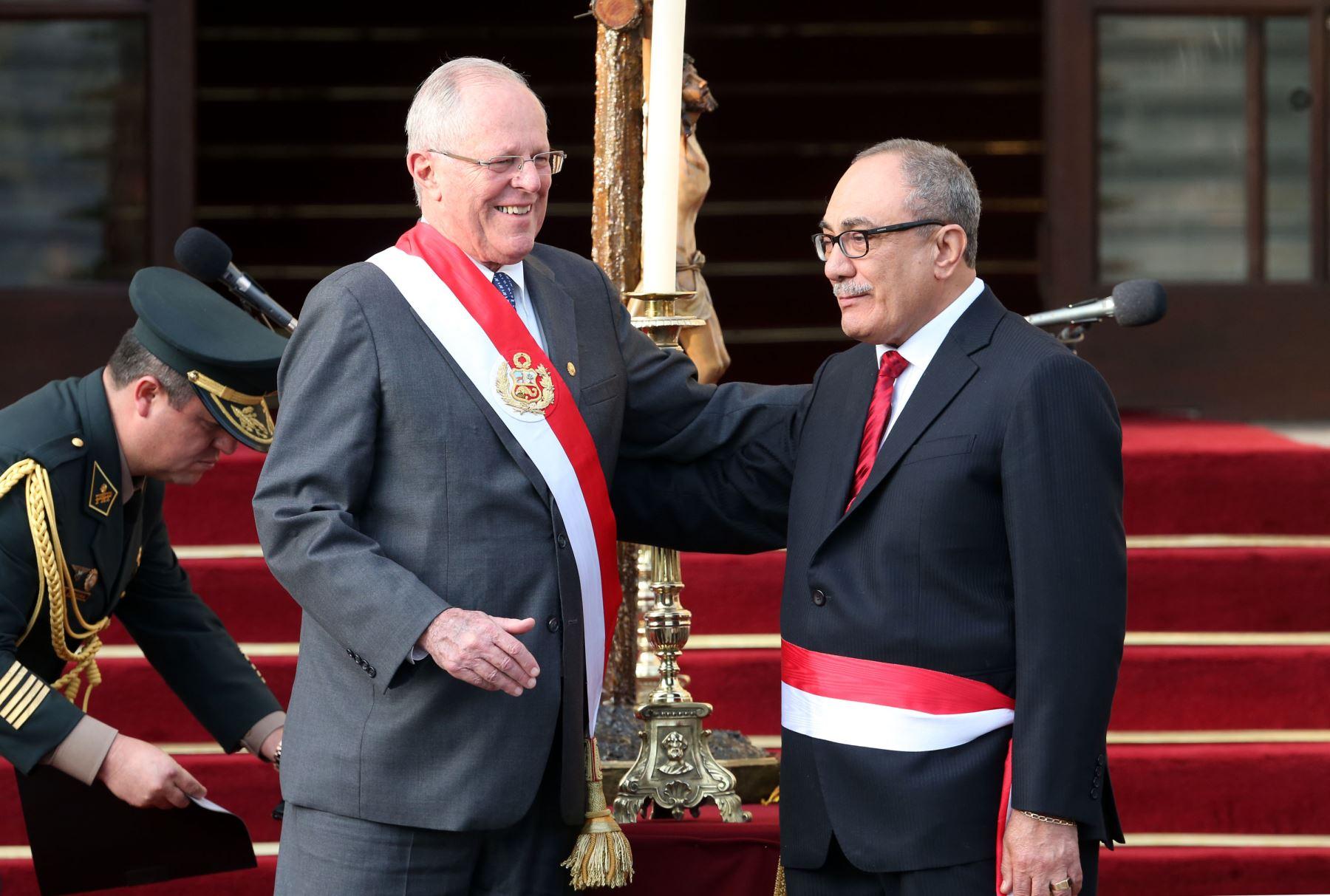 Idel Vexler juramentó como ministro de Educación. Foto: ANDINA/ Vidal Tarqui