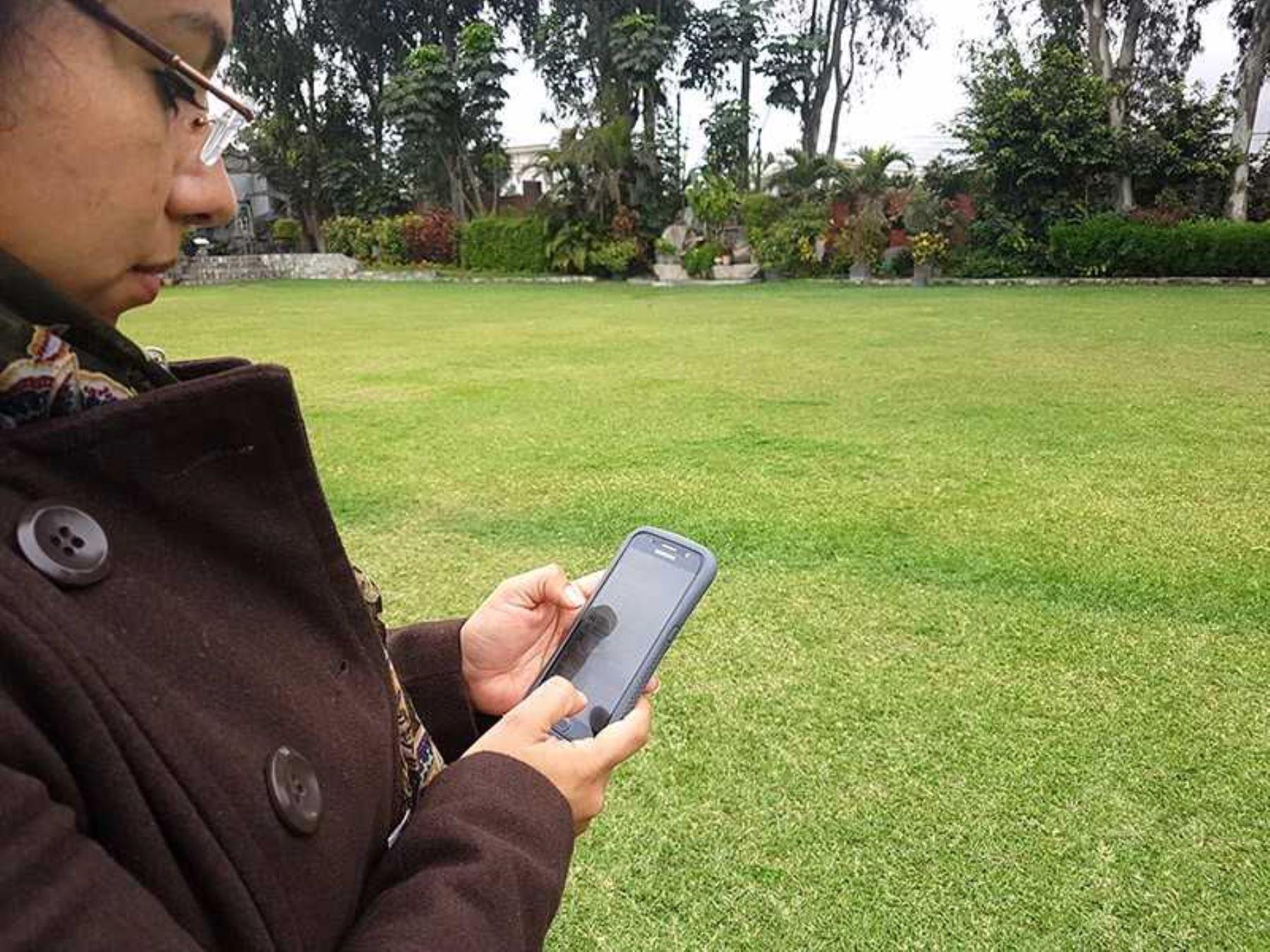 Con celulares ubicarán zonas de evacuación en caso de sismo en La Molina