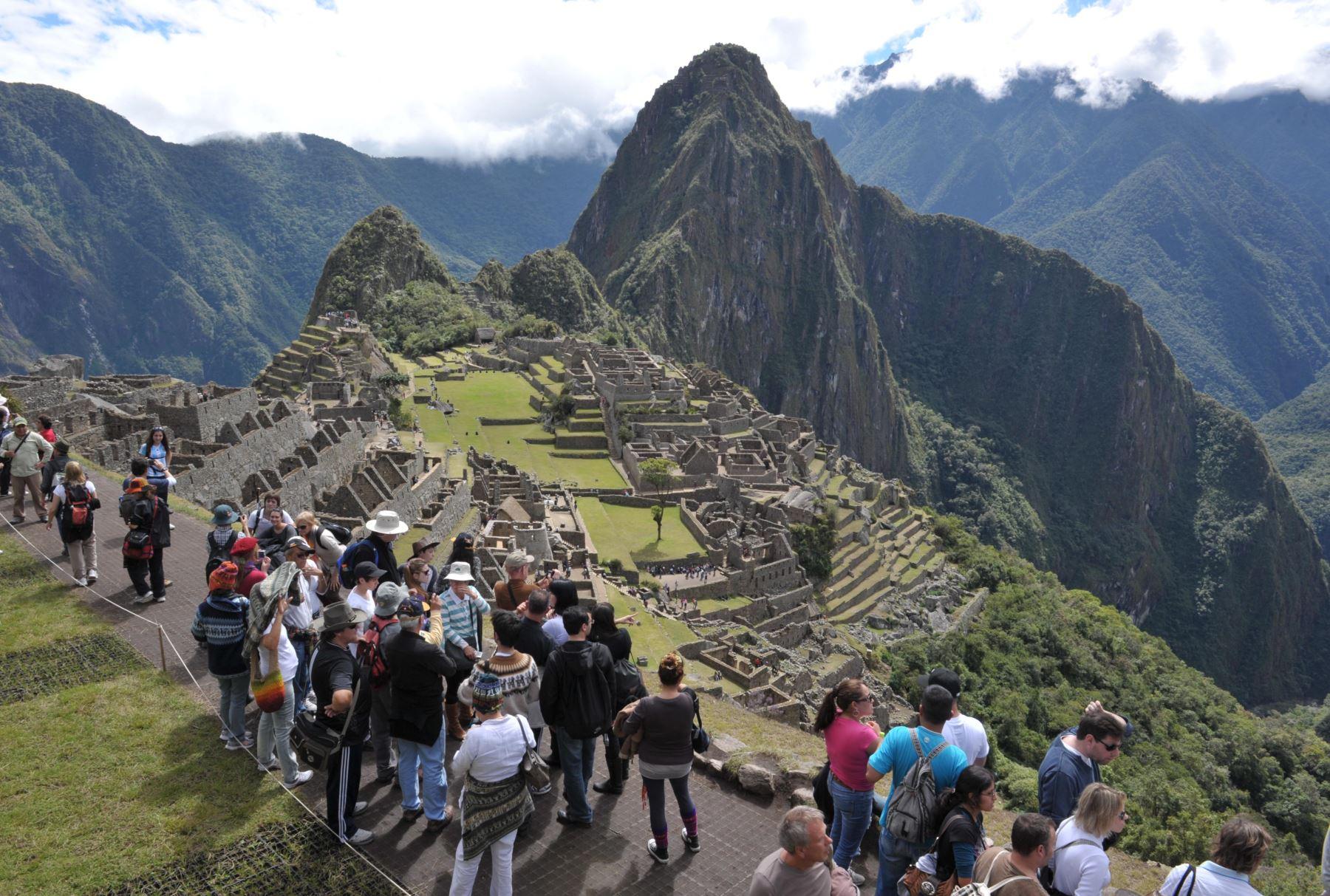 Foto: Machu Picchu.