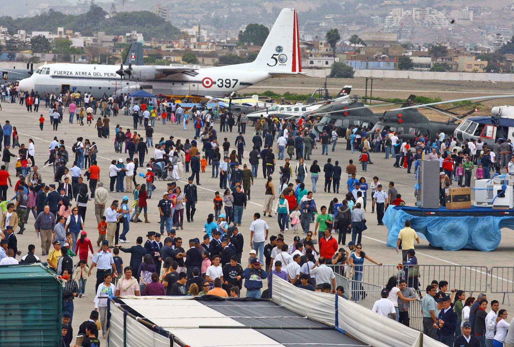 Base Aerea Las Palmas.Foto: ANDINA
