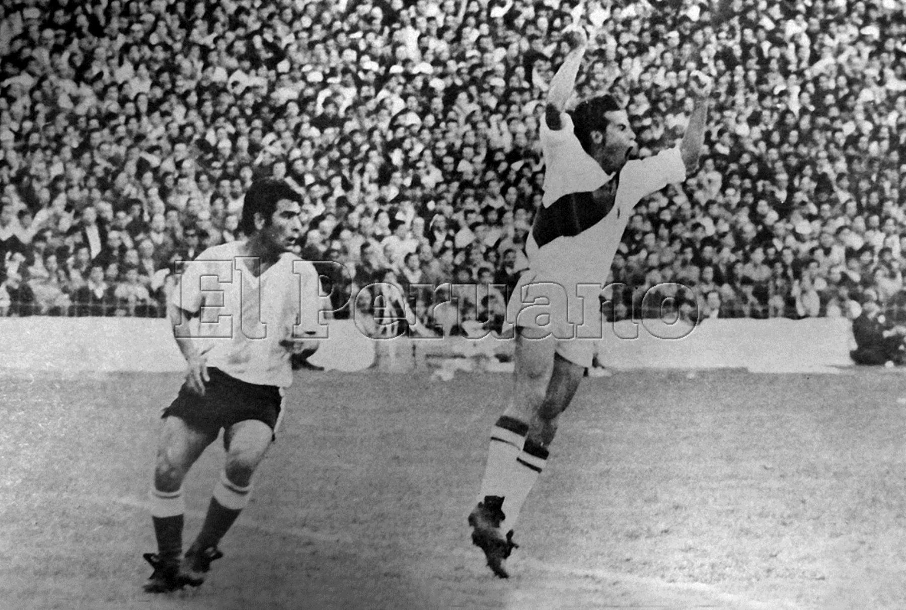 Argentina vs. Perú en la Bombonera 1,969