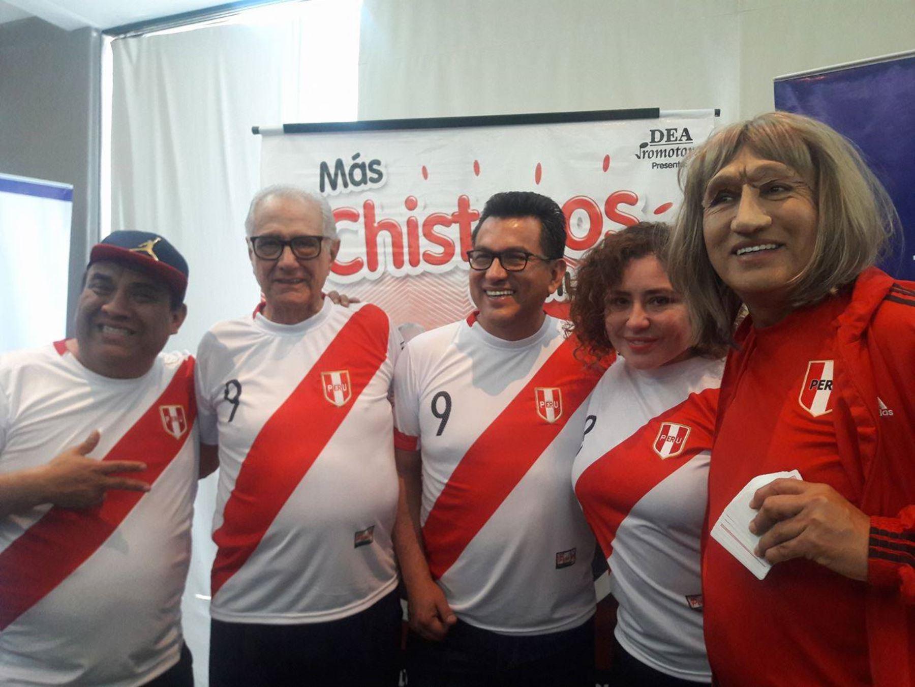Fernando Armas y Los Chistosos también sueñan con ir al Mundial.