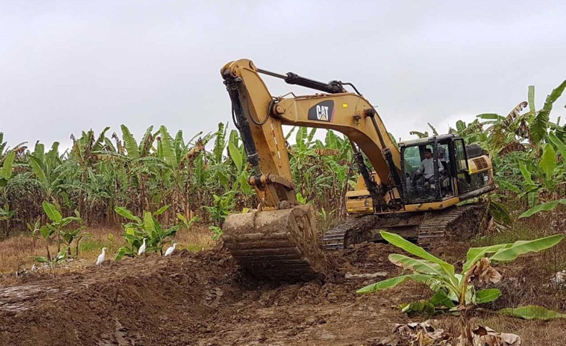 Obras de prevención en las cuencas de los ríos Piura y Chira