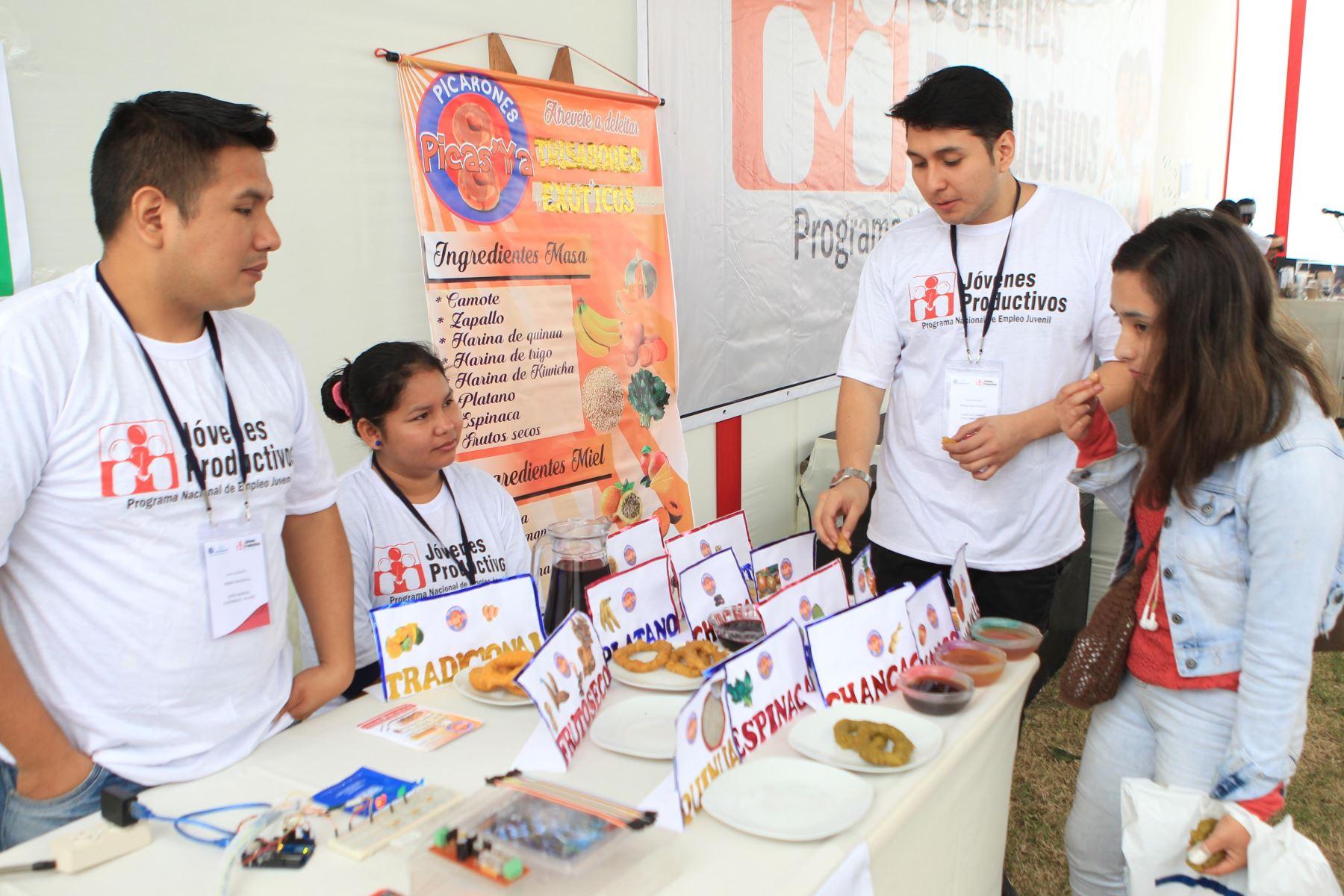MTPE entregará este año capital semilla a 150 jóvenes emprendedores
