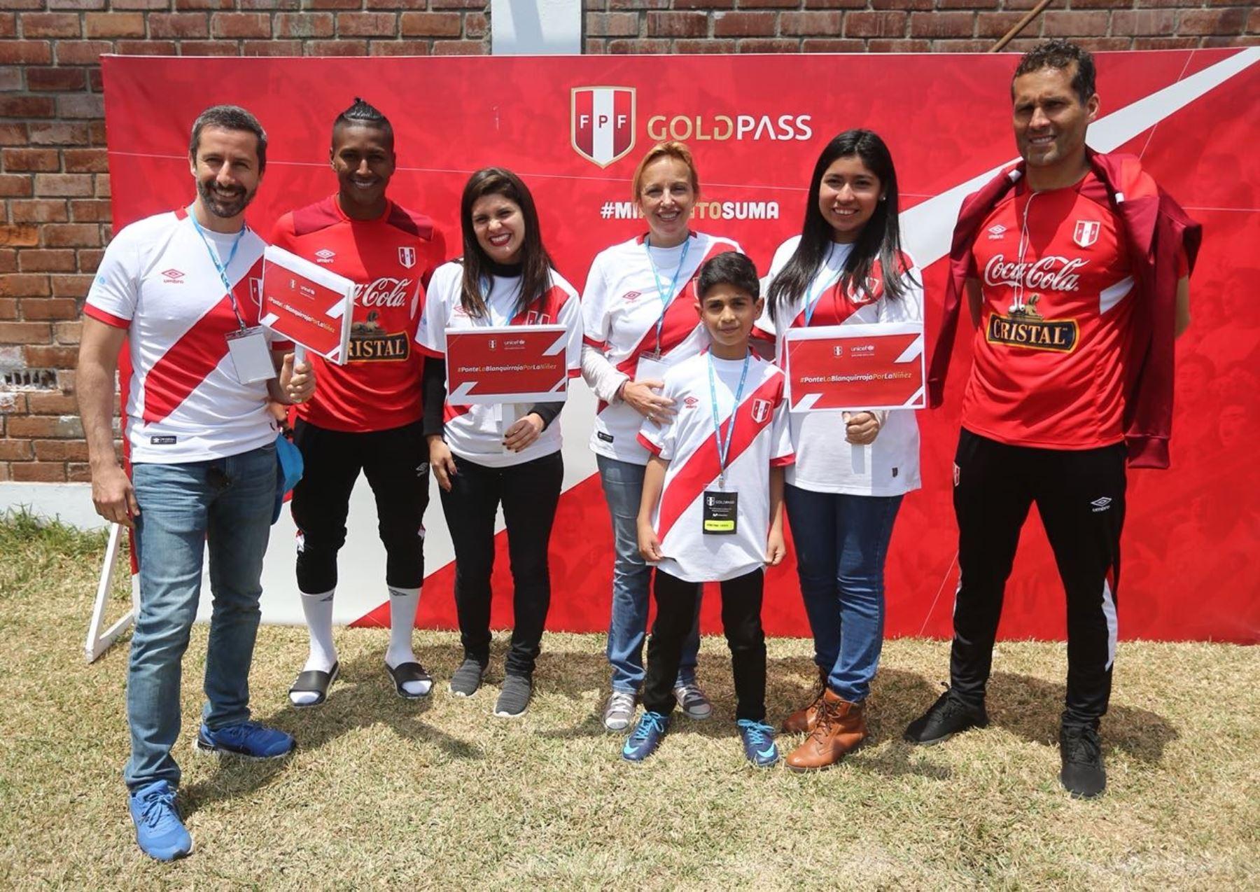 Representantes de Unicef se reunieron con jugadores de la selección.