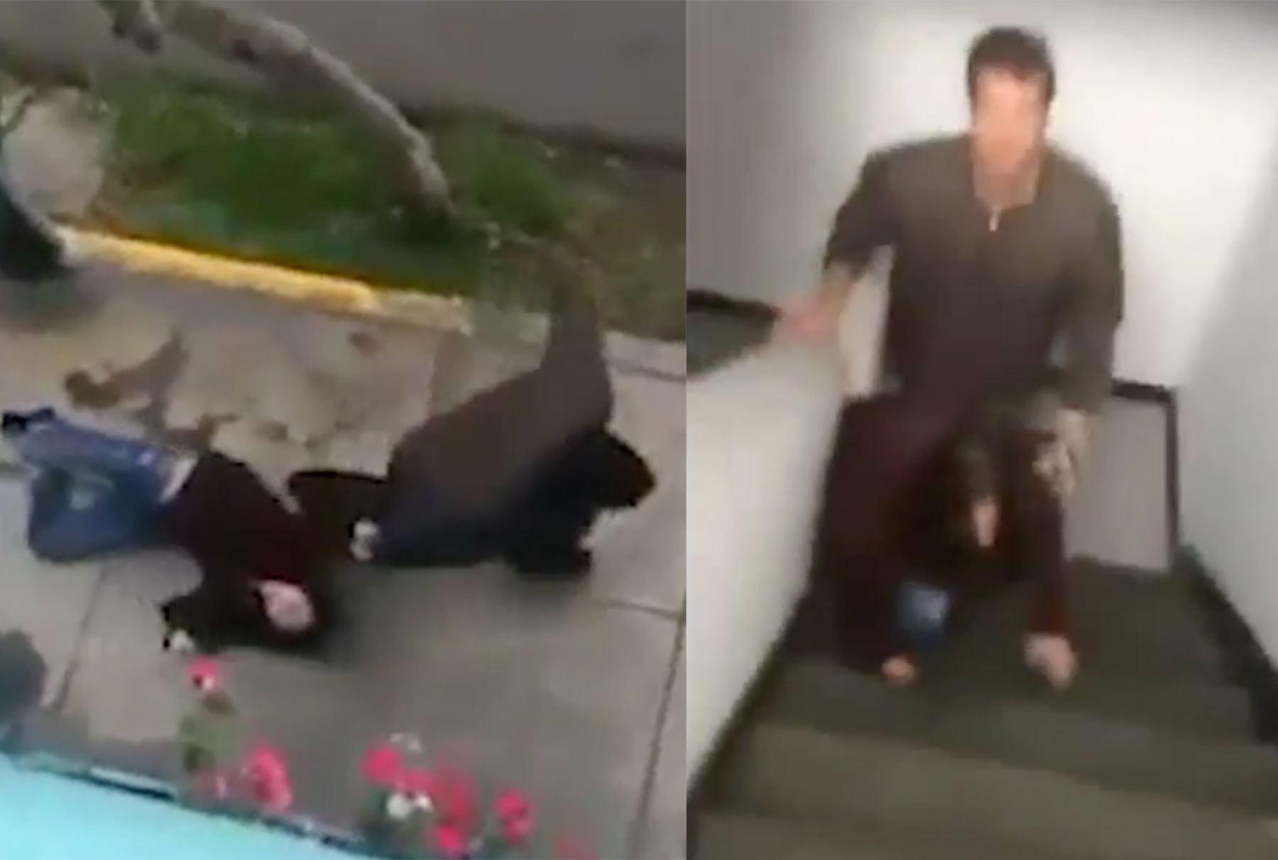 Solicitan prisión preventiva para pareja agresora de Micaela de Osma.
