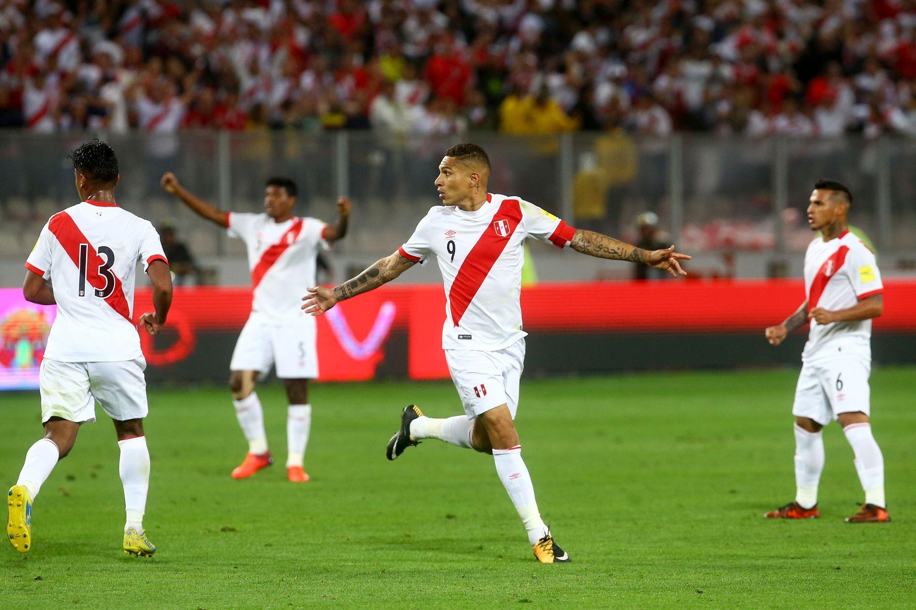 Selección peruana de fútbol. ANDINA/Luis Iparraguirre