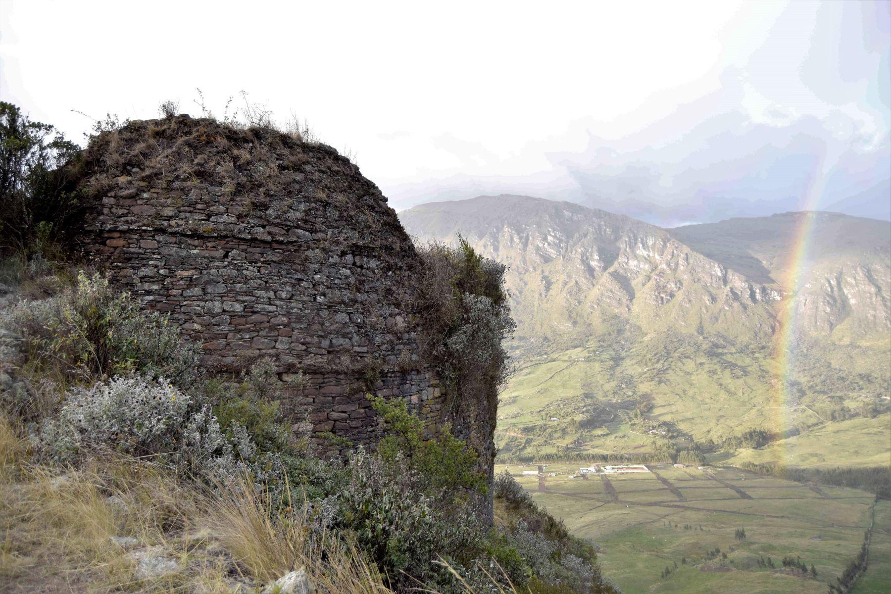 Habilitan acceso vial a sitio arqueológico Inca Pakarishka que se ubica en la provincia de Bolívar, en La Libertad. ANDINA/Difusión