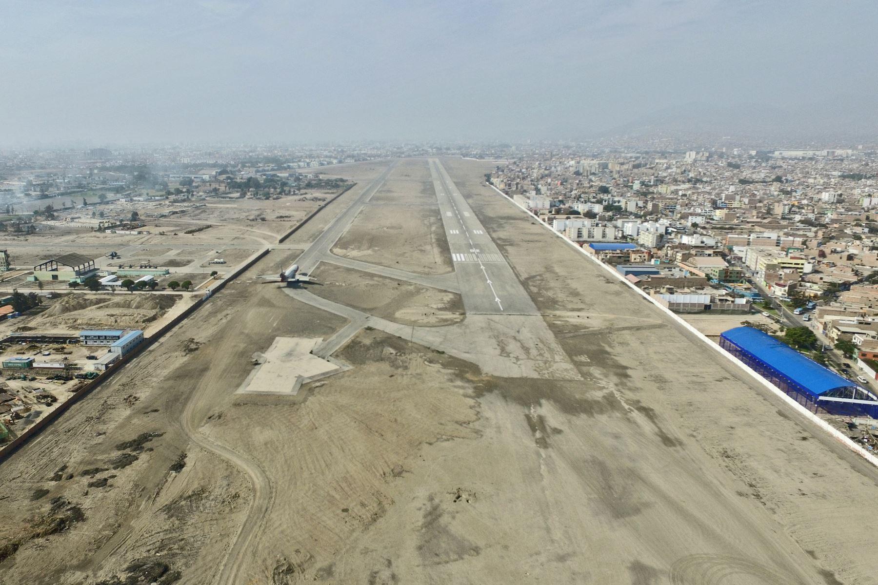 Base Aérea de Las Palmas. Foto: ANDINA/archivo