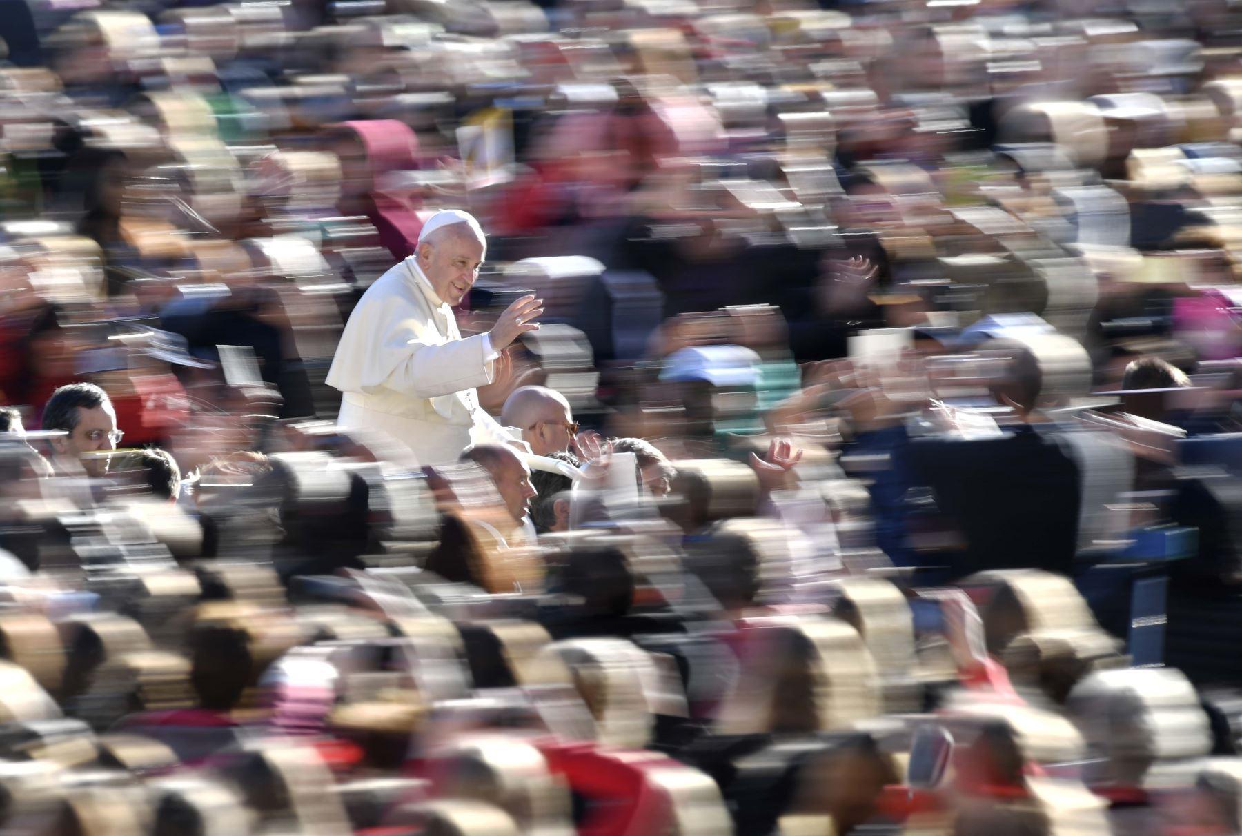 Papa Francisco: 6,000 feligreses y voluntarios lambayecanos viajarán a Trujillo. AFP