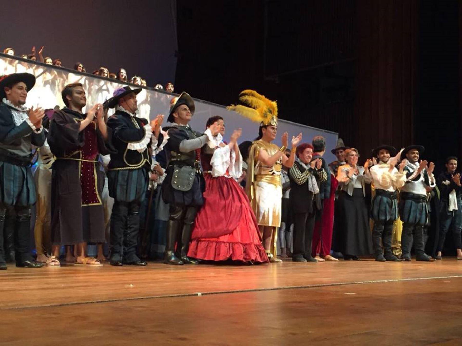 Escena de la ópera
