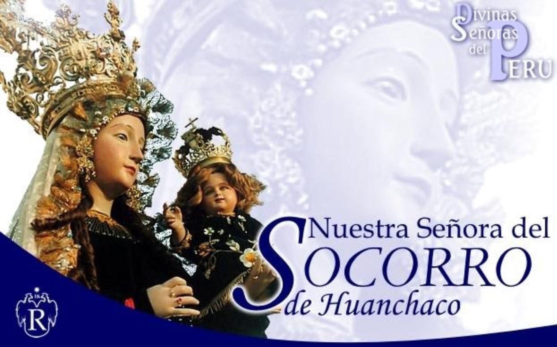 Virgen de la Candelaria del Socorro de Huanchaco, patrona del balneario.