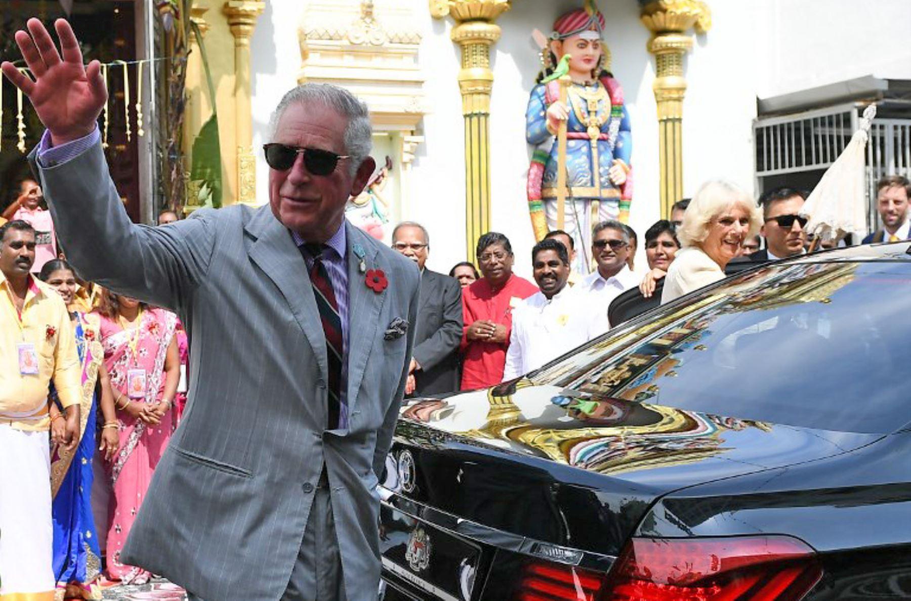 Principe Carlos.Foto: AFP