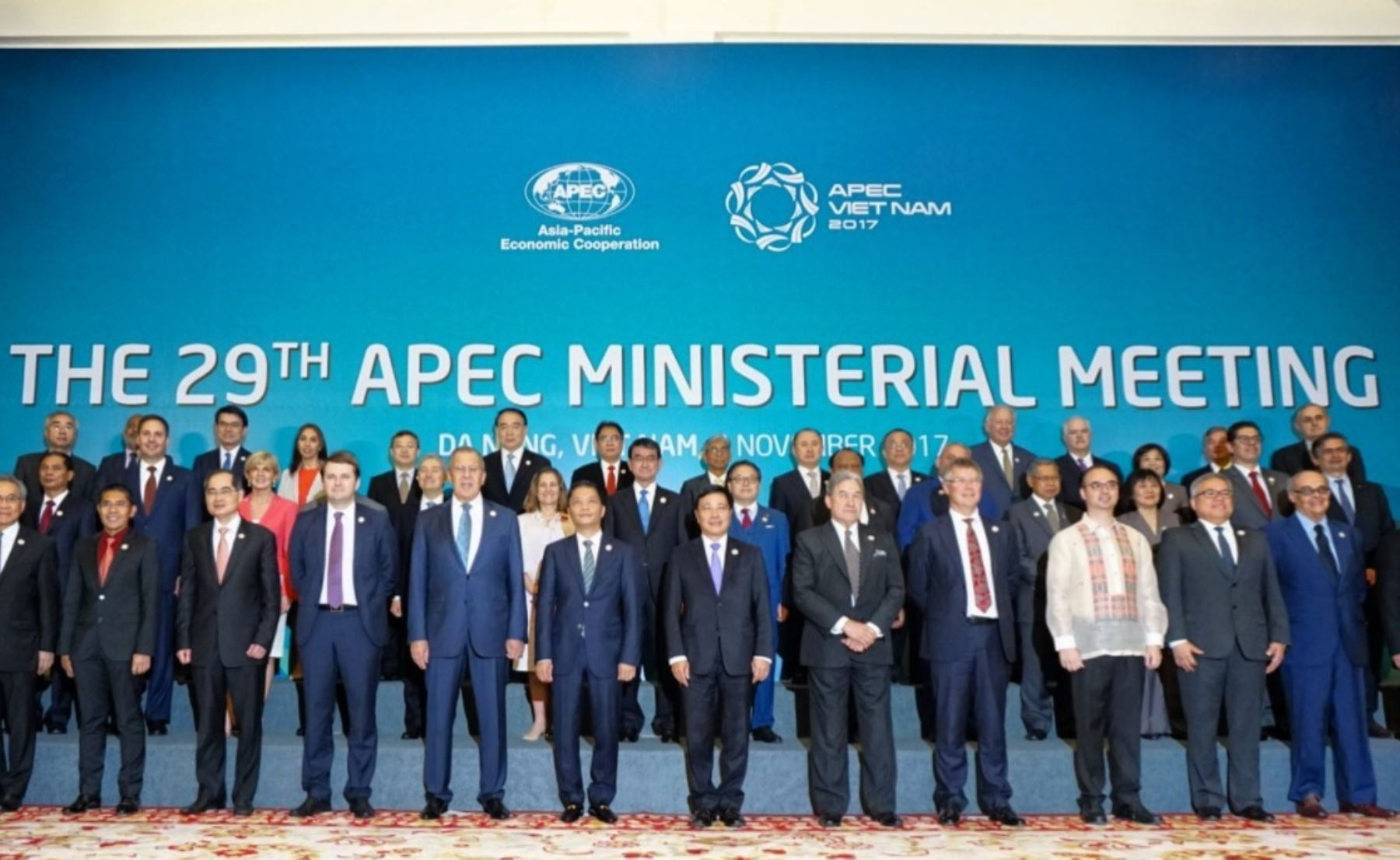 Canciller Ricardo Luna participa en reunión ministerial del Foro Apec en Vietnan.