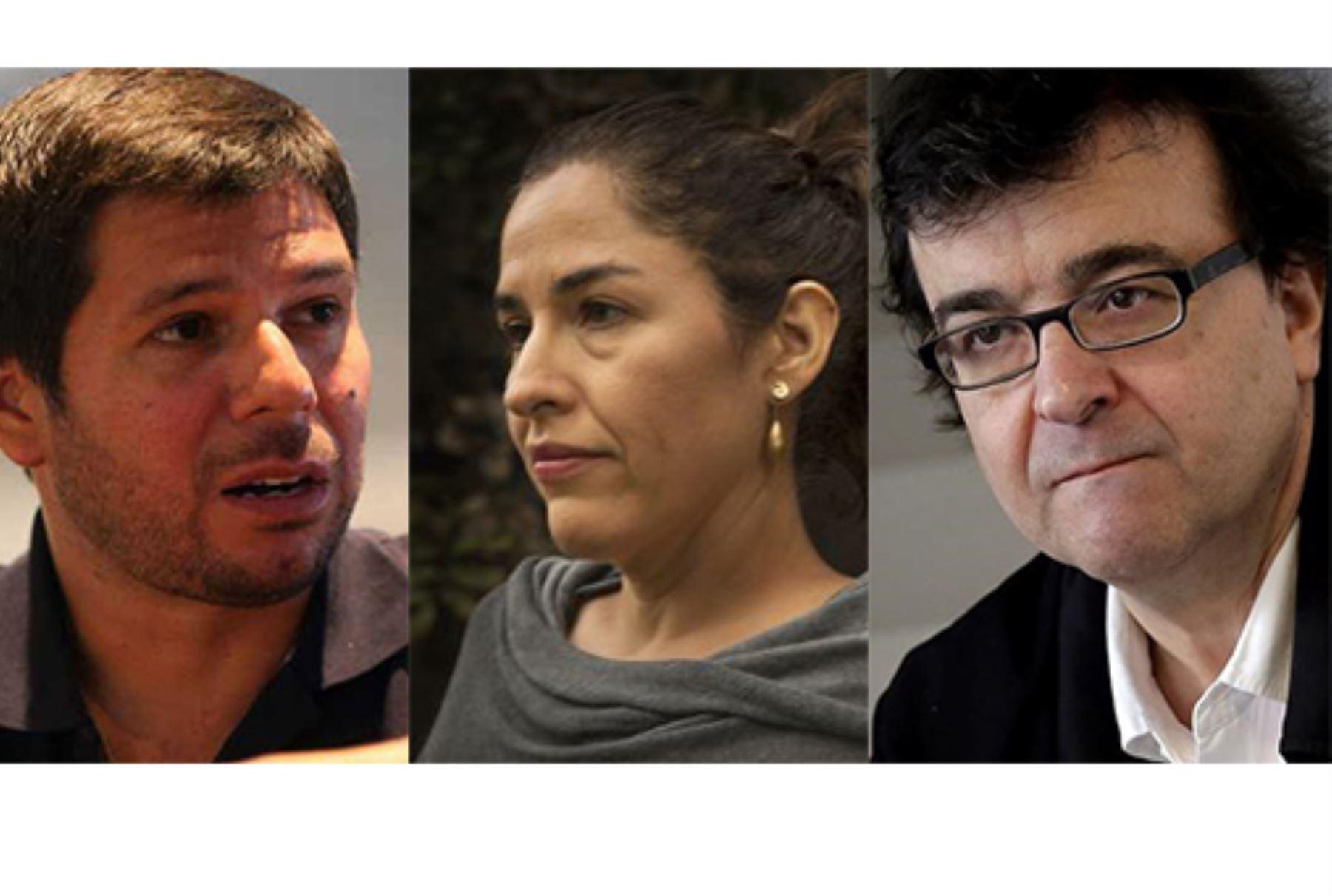 Renato Cisneros, Guadalupe Nettel y Javier Cercas