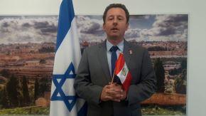 Embajador de Israel en el Perú, Raphael Singer, visitó por primera vez Trujillo, en la región La Libertad, y realizó varias actividades. Visitó fundos.