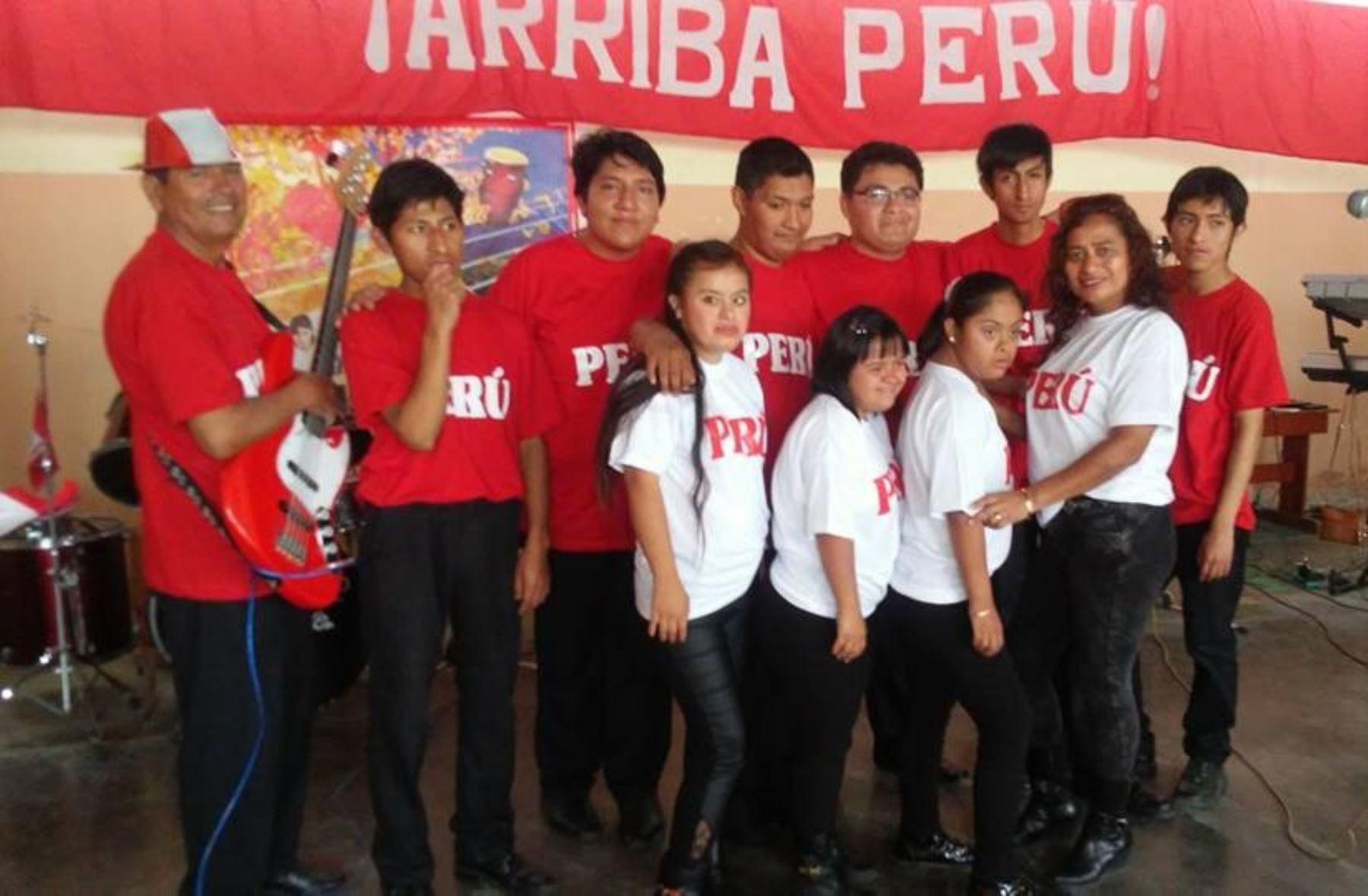 Niños con habilidades especiales de Chimbote componen canción para la selección peruana. ANDINA