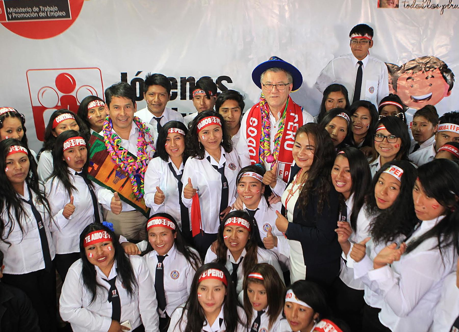 Ministerio de Trabajo capacita a 300 jóvenes y brinda 662 empleos temporales en Puno. ANDINA/Difusión