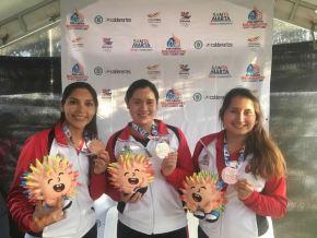 El equipo de tiro comenzó sumando preseas en los Juegos Bolivarianos