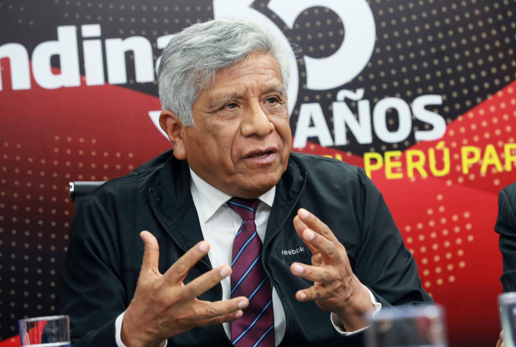 Ex viceministro de Vivienda y Urbanismo, Miguel Romero. ANDINA/Norman Córdova