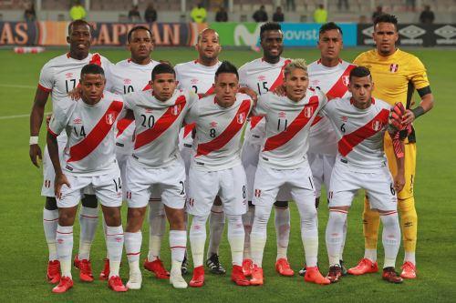 Selección Peruana de Fútbol. Foto: ANDINA/Carlos Lezama