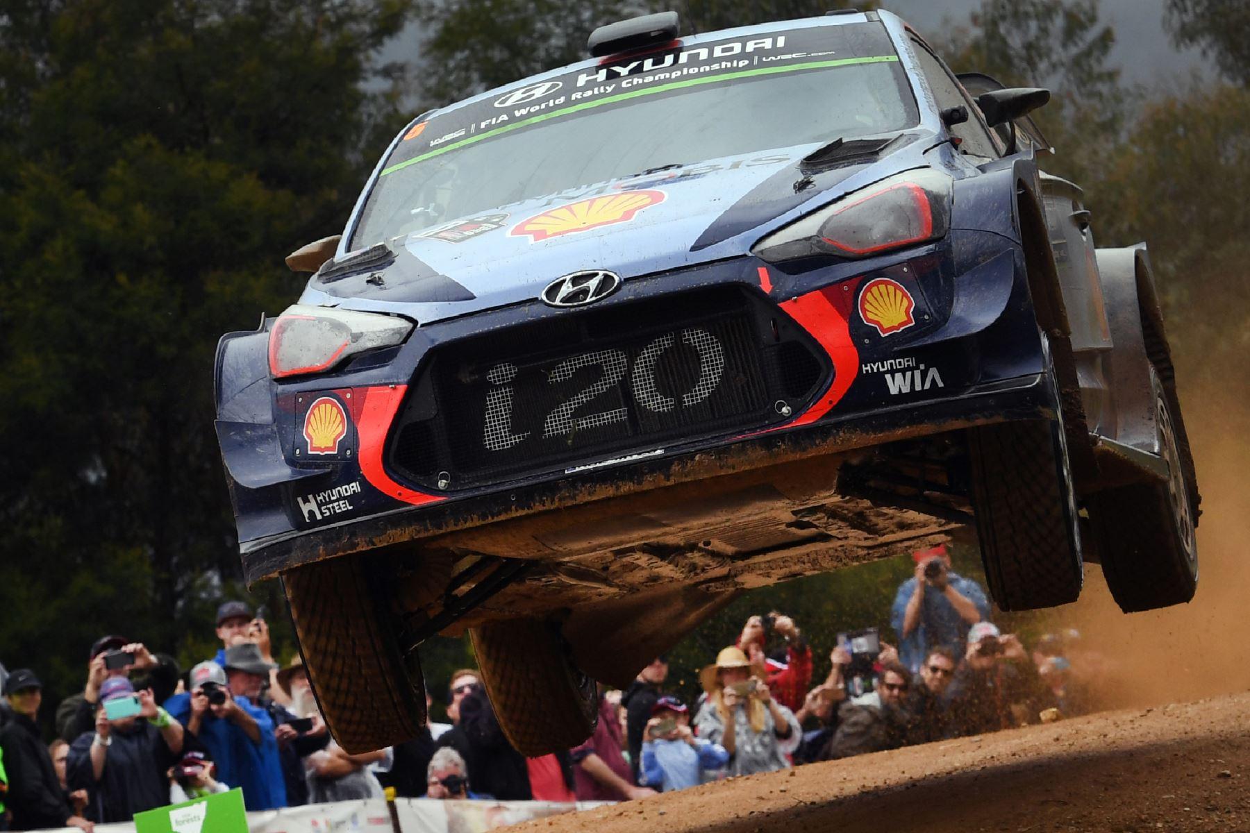 Campeonato del Mundo de Rally (WRC) Rally de Australia cerca .Foto:AFP
