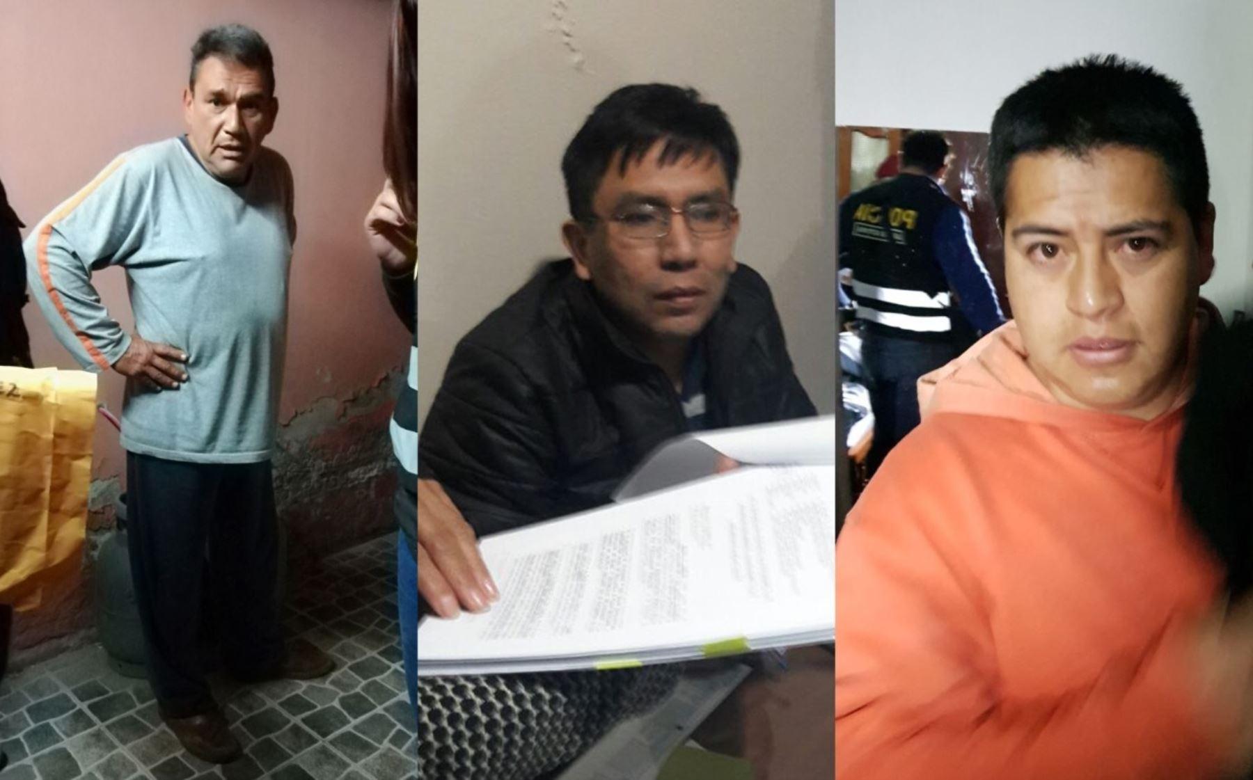 PNP capturó a 22 integrantes de Los Magos de UGEL. Se calcula que habrían malversado fondos públicos por 7 millones de soles.