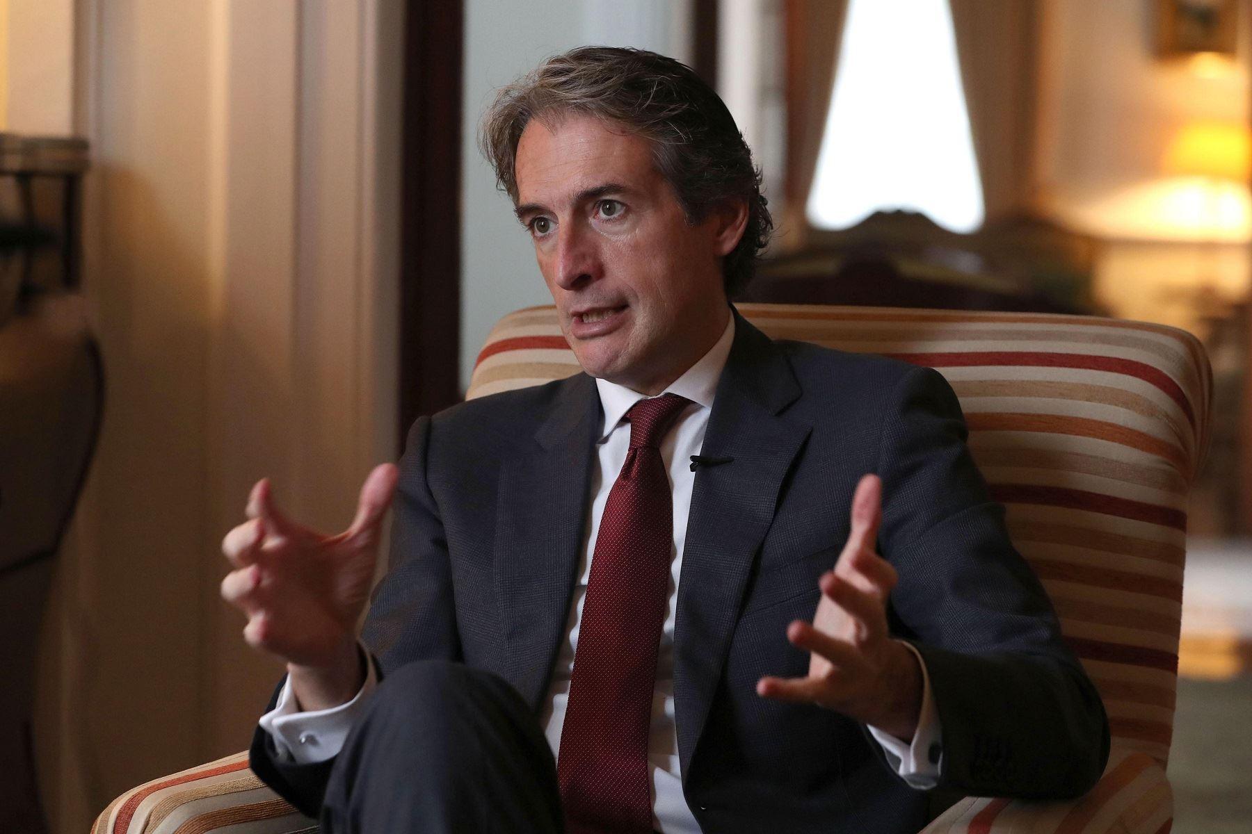 Mercedes Aráoz destaca colaboración Perú - España