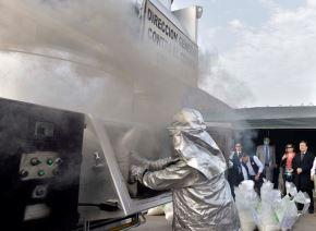Mininter: incineran casi 15 toneladas de droga incautada por la Policía. Foto: ANDINA/Difusión.