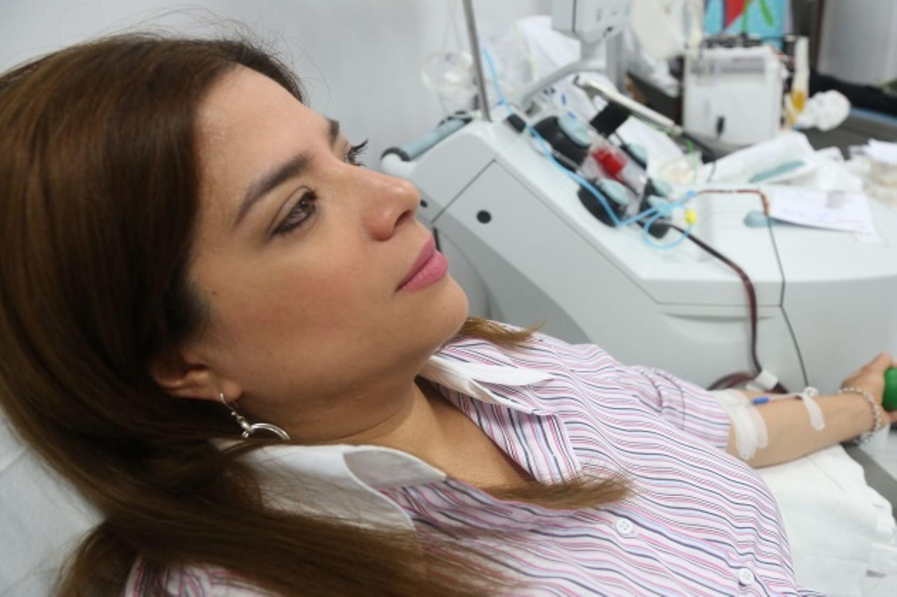 Actualmente hay casi 6 mil donantes inscritos en el Perú. Foto: Difusión