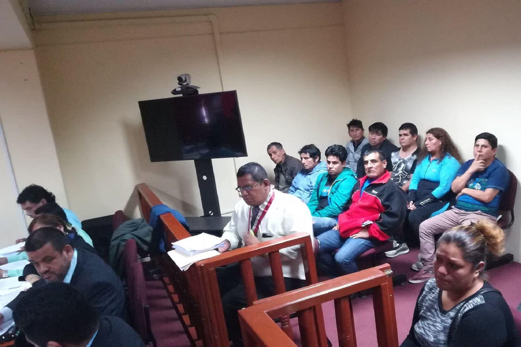 Juzgado ordena 36 meses de prisi n preventiva para for Juzgado del crimen