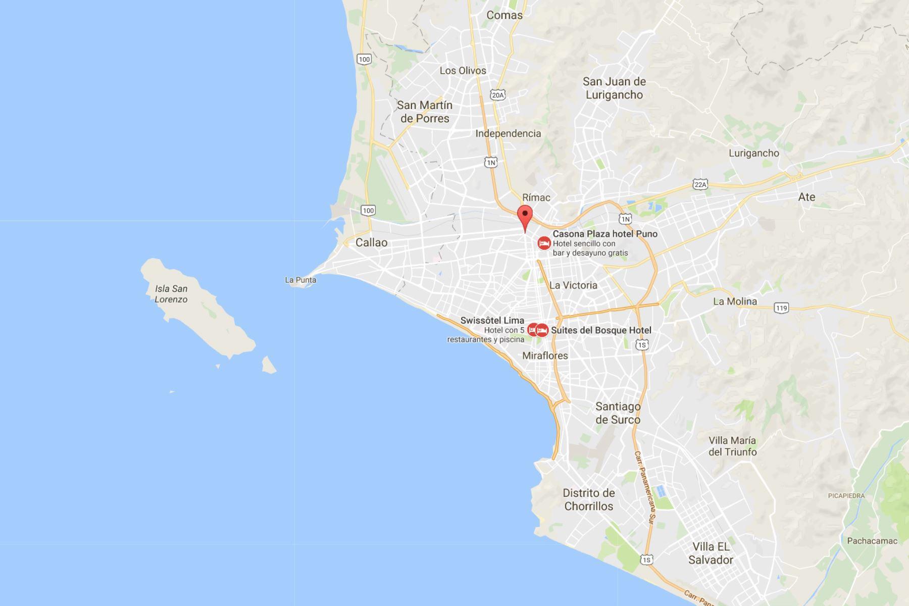 Sismo de 4.1 grados sacudió Lima y Callao esta madrugada