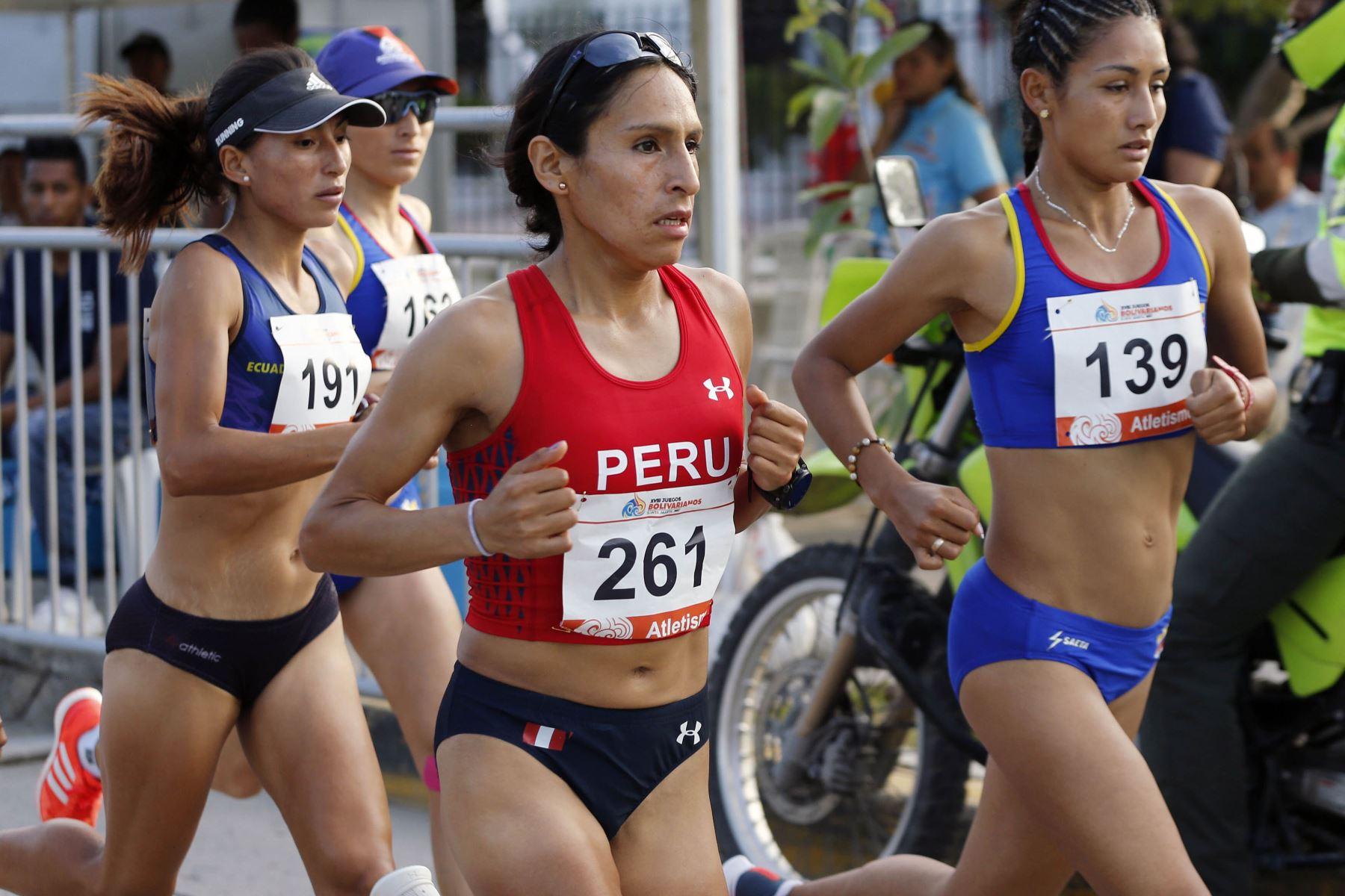 Gladys Tejeda logra la medalla de oro en los Juegos Bolivarianos