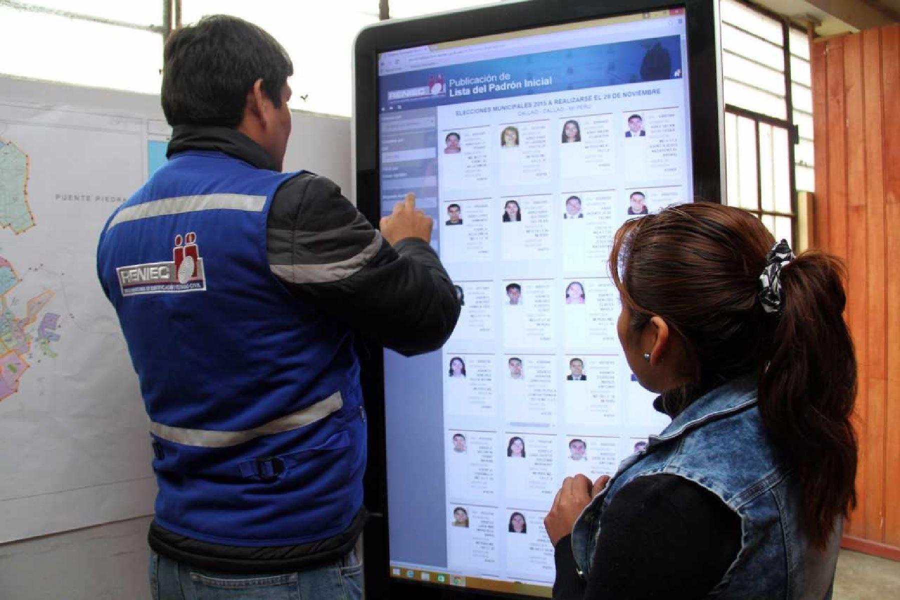 Resultado de imagen para Ciudadanos pueden revisar desde hoy padrón para comicios regionales y ediles