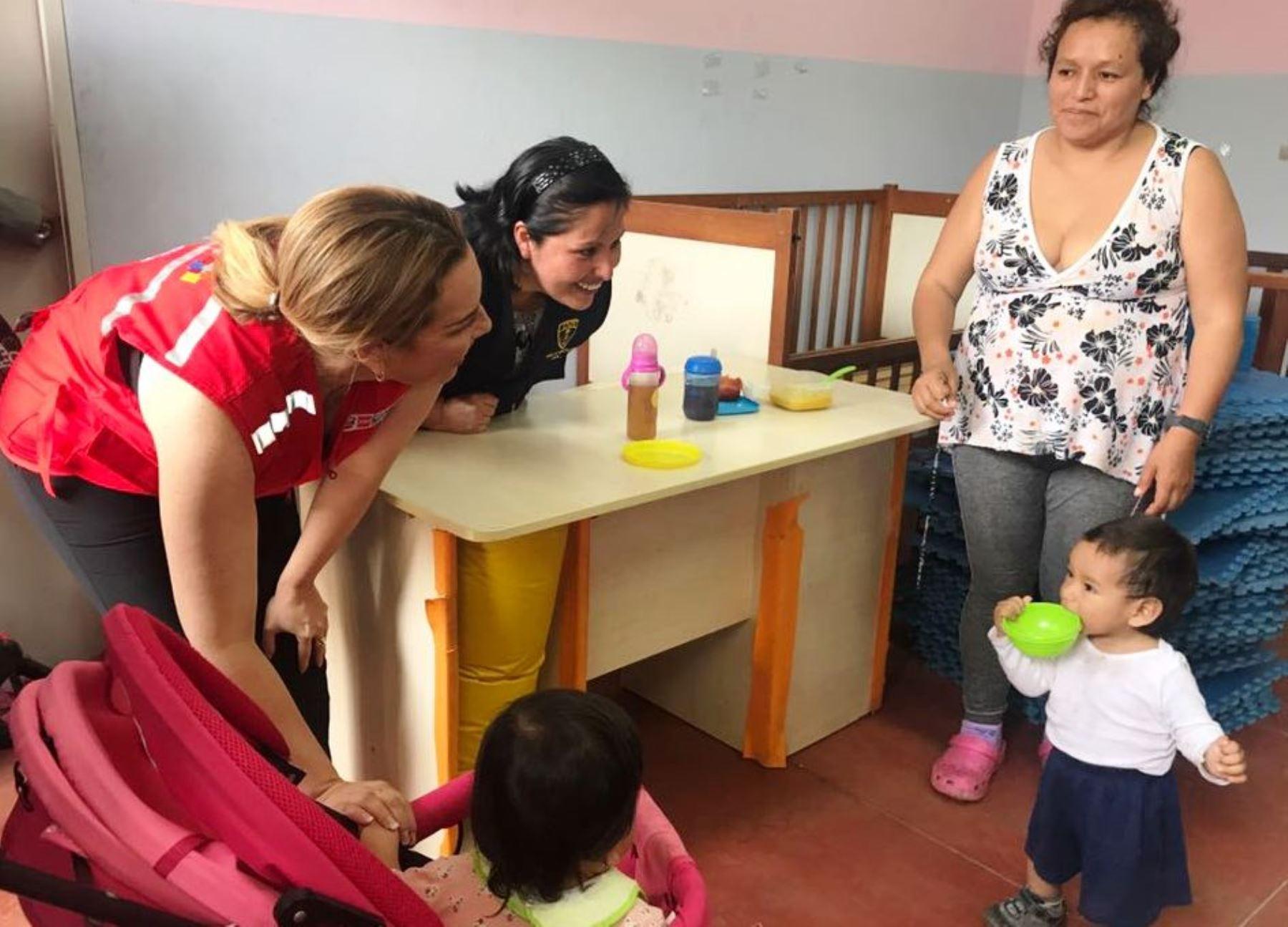 Midis ingresará a penales para dar nutrición y desarrollo integral a hijos de internas. Foto: ANDINA/Difusión.