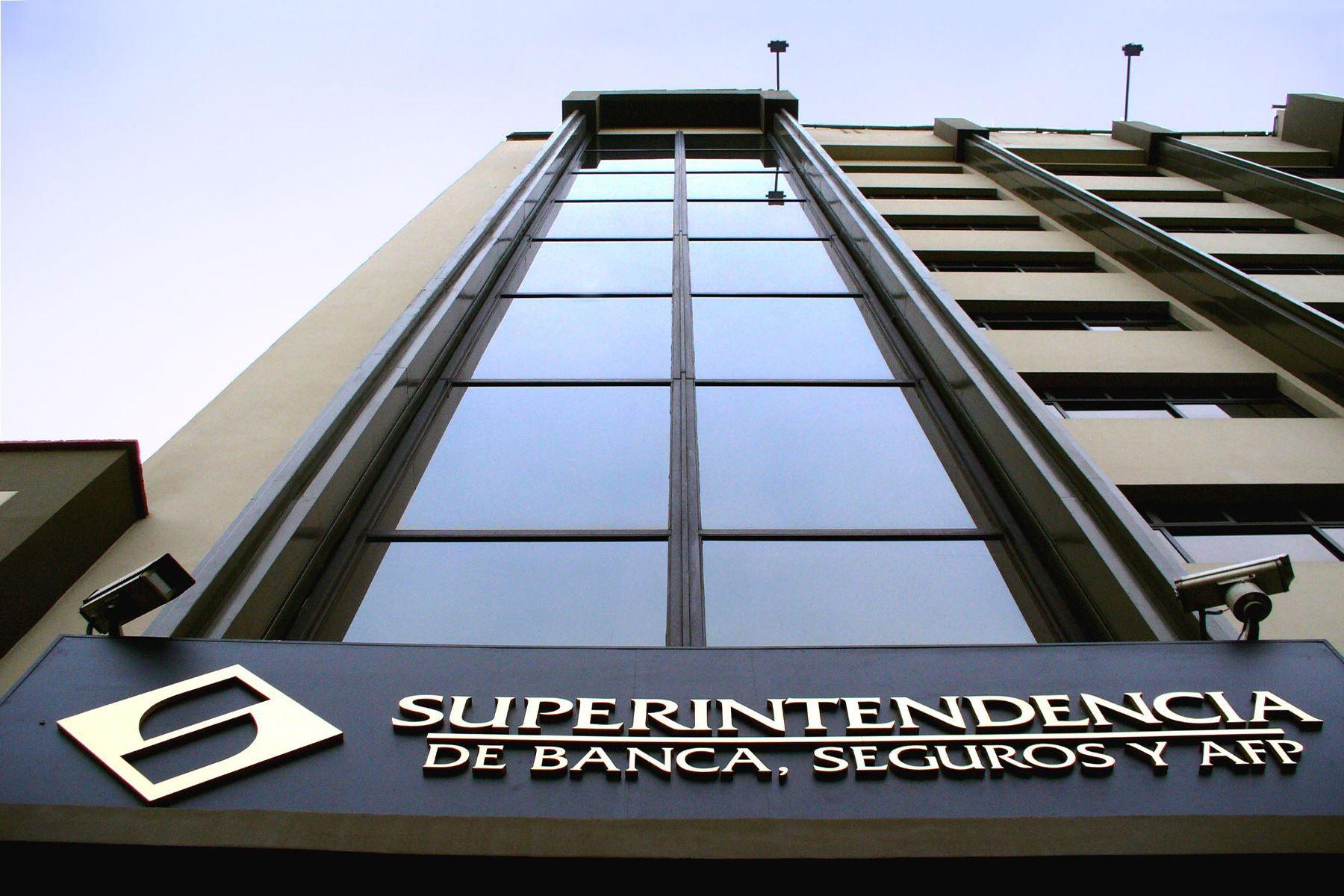 Superintendencia de Banca, Seguros y AFP (SBS). Foto: ANDINA