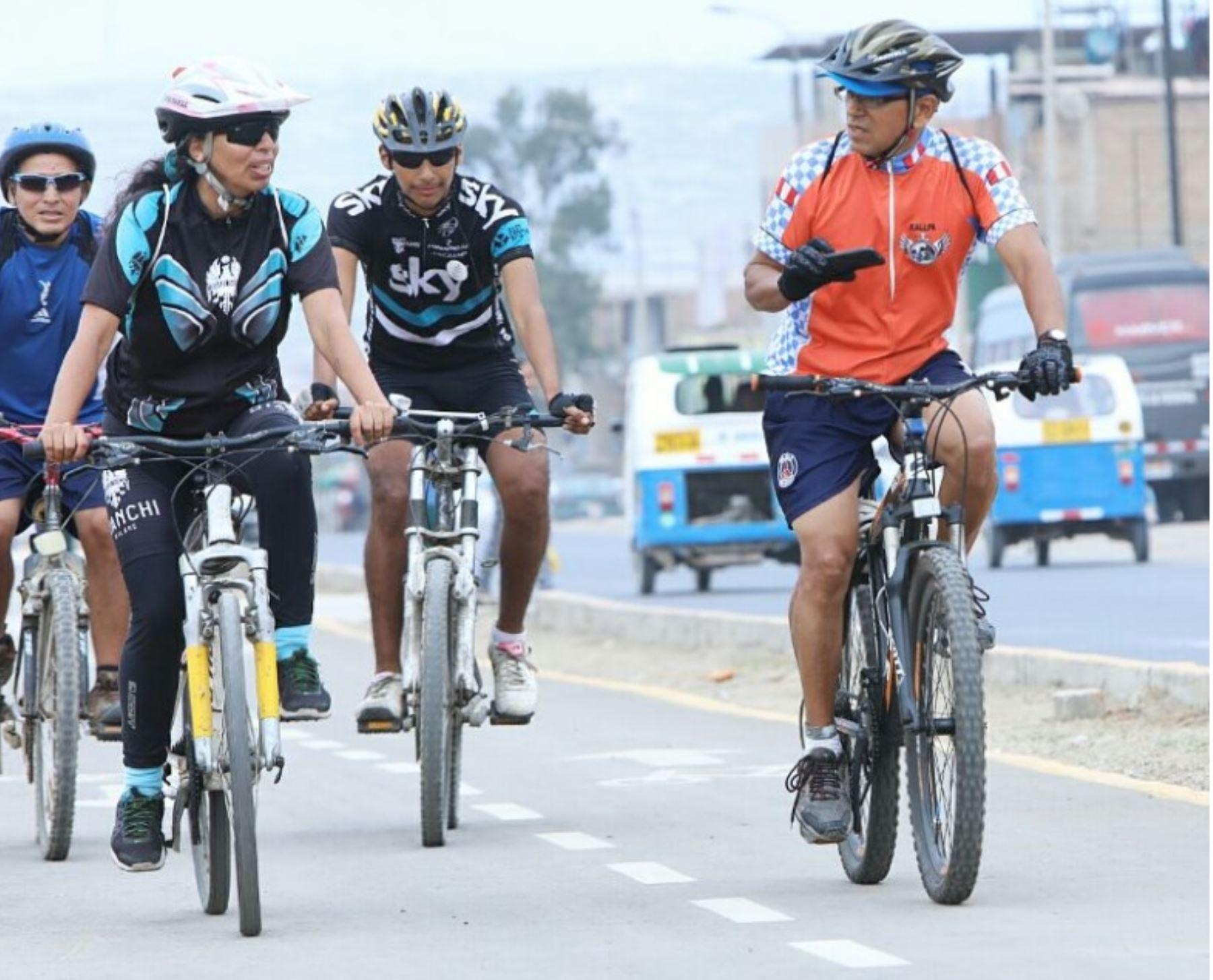 Resultado de imagen para Tres distritos de Lima Sur tendrán seis nuevas ciclovías