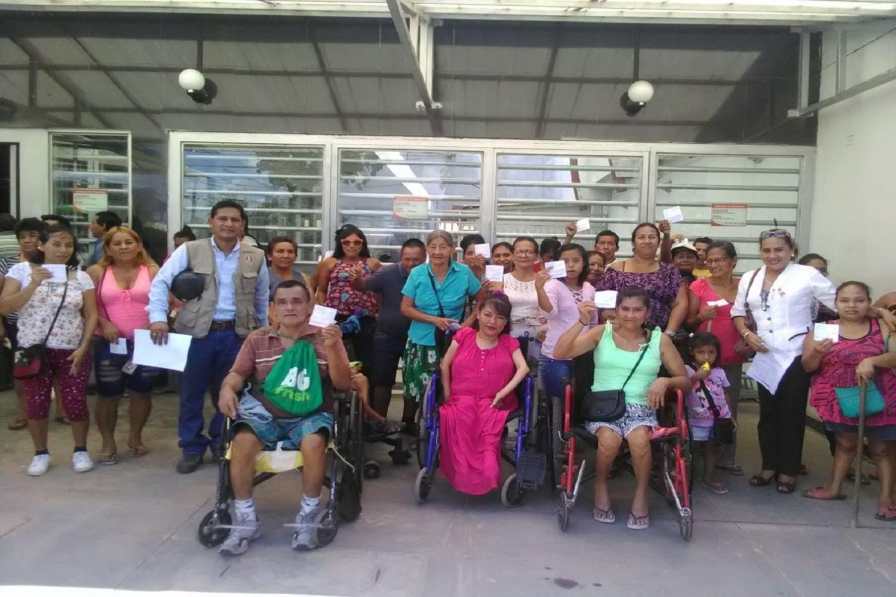 Más de 14,000 personas con discapacidad severa recibirán bono en diciembre. ANDINA/Difusión