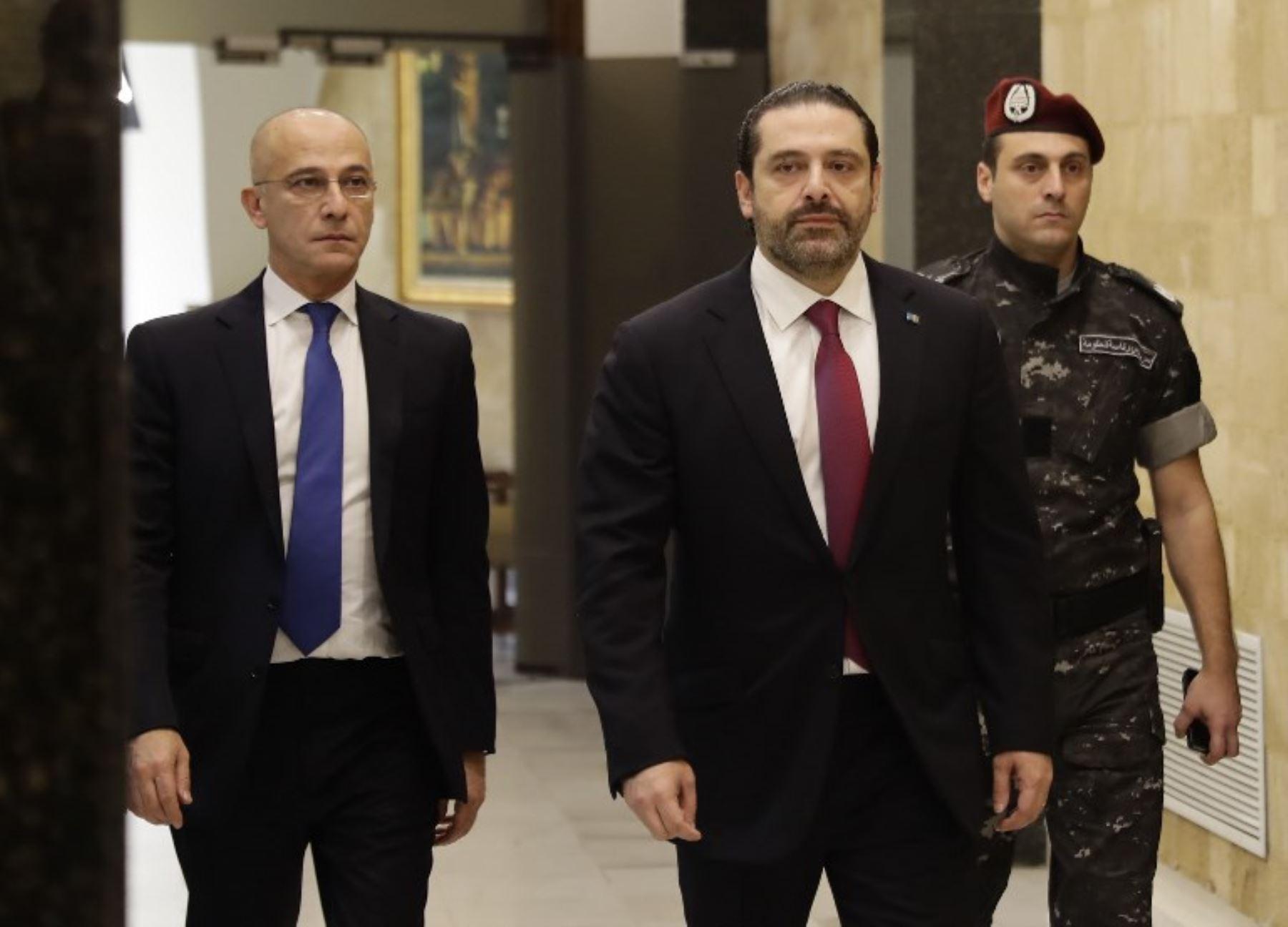 Hariri confirma que no abandonará el cargo de primer ministro del Líbano
