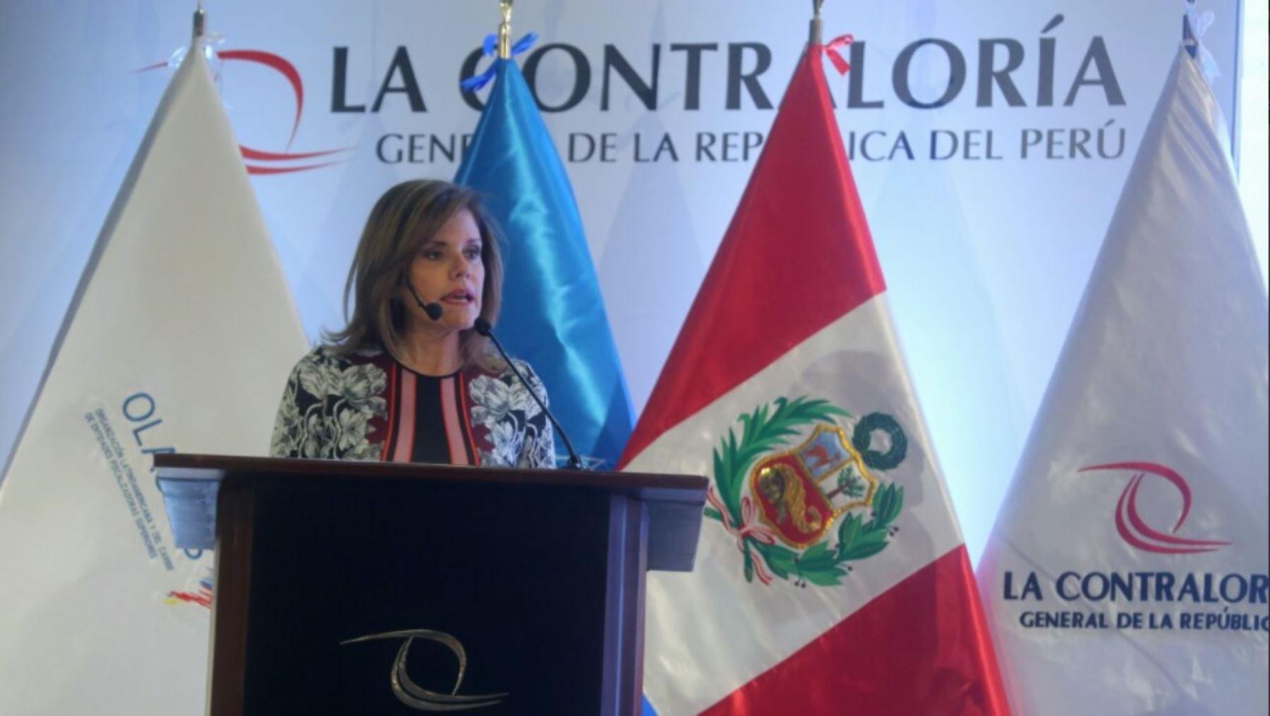 Presidenta del Consejo de Ministros, Mercedes Aráoz