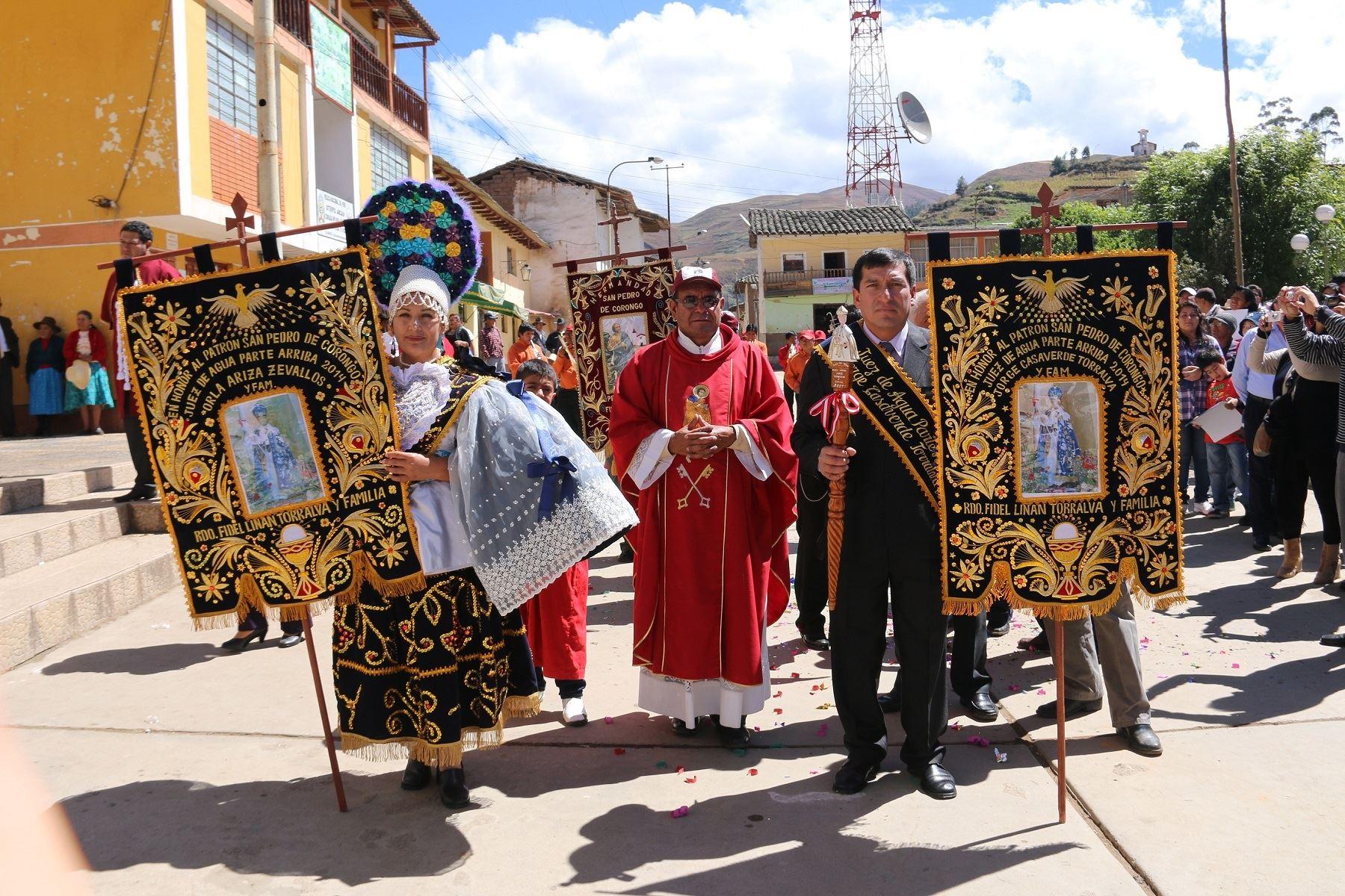 Sistema de Jueces de Agua de Corongo ya es Patrimonio Cultural de la Humanidad por la Unesco.  ANDINA/Difusión