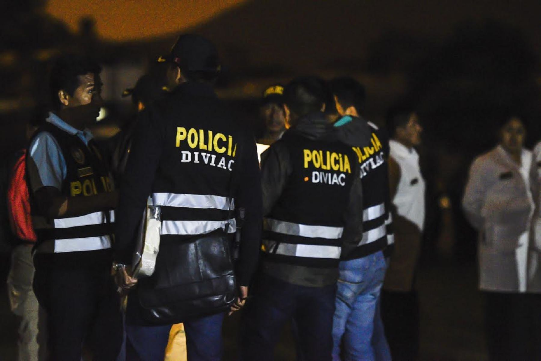 Policía captura a tres altos mandos terroristas y un menor de edad.