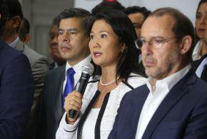 Lideresa de Fuerza Popular se pronuncia sobre denuncia de su bancada. Foto: ANDINA/Eddy Ramos