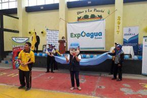 Escolares de Trujillo presentan proyectos de reúso de agua en colegios. ANDINA/Difusión