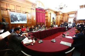 Sesión de la Comisión de Ética. Foto: Difusión.