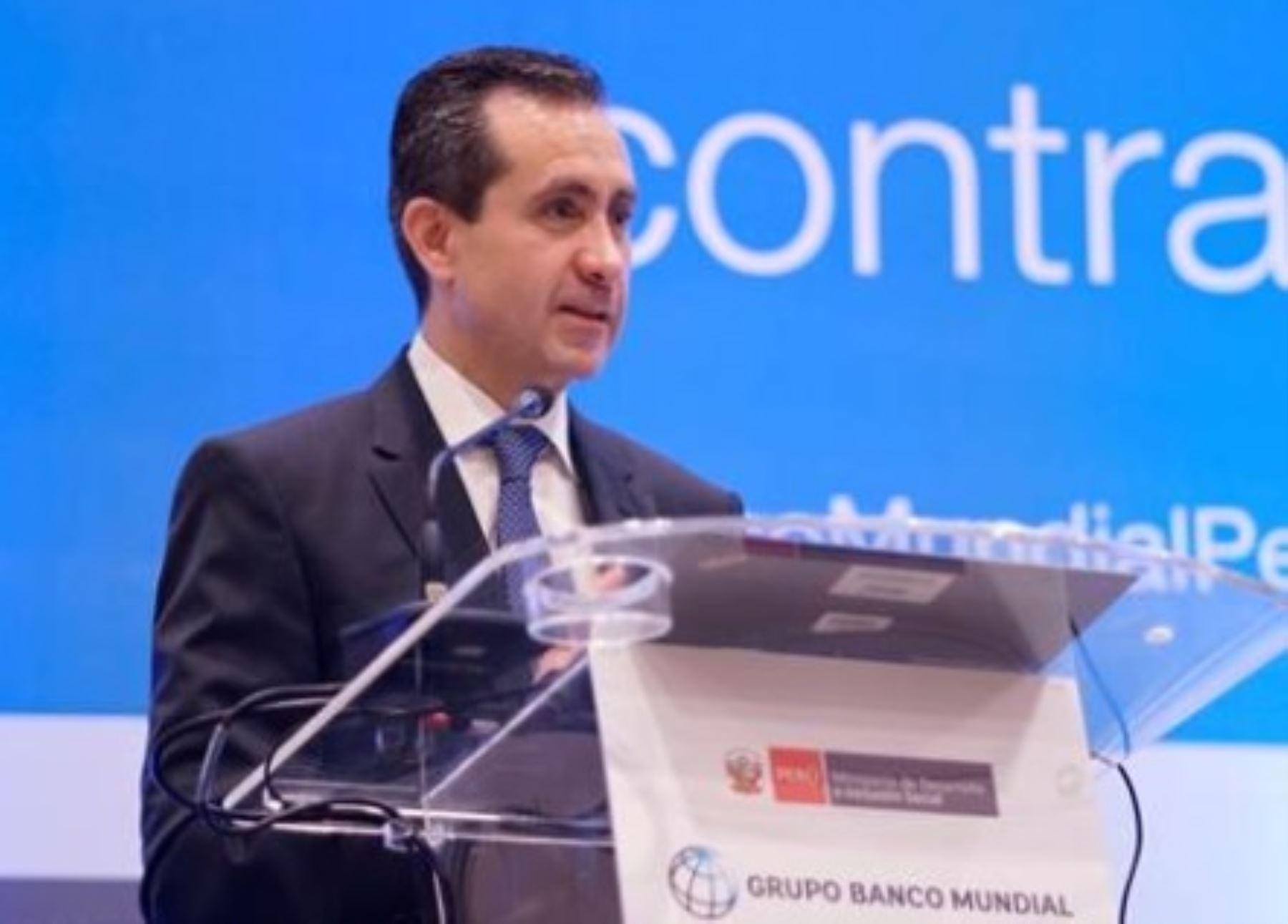 Vicepresidente del Banco Mundial para América Latina y el Caribe, Jorge Familiar. INTERNET/Medios