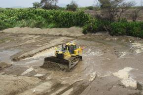 Minagri destaca avances en trabajos de limpieza y encauzamiento de ríos Zaña y Olmos. ANDINA/archivo