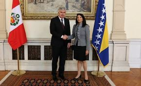 Peru Ambassador presents credentials in Bosnia and Herzegovina